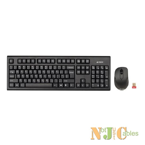 A4TECH 2.4GHz Wireless Mouse &  Keyboard Combo