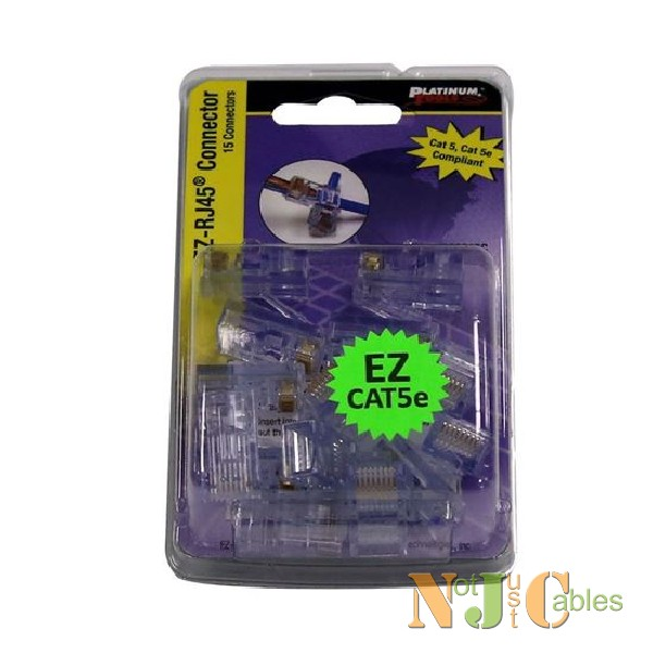 PLATINUM TOOLS Cat5e EZ-RJ45 Plug