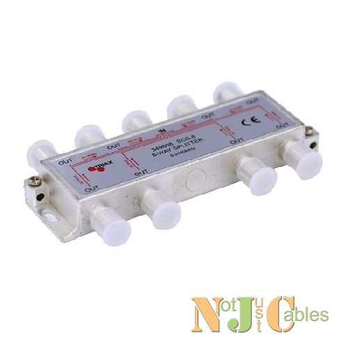 TRIAX RF 8 Way Splitter 5-2400MHz